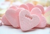 6265286-a-pink-valentine-candy-heart-with-the-word-love