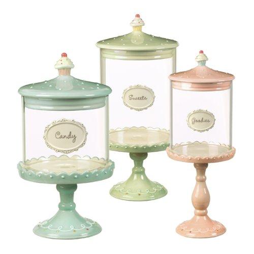 {Sweet Finds} Cupcake Pedestal Candy Jars – The Tiny Tiara