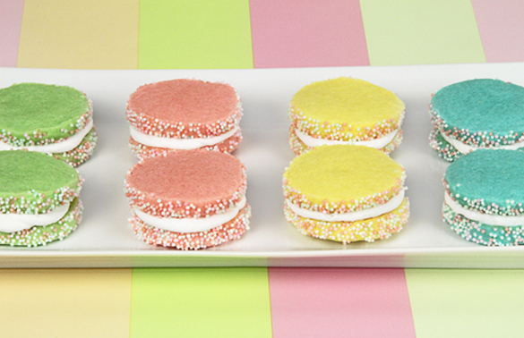 Easter Cookie Sandwiches