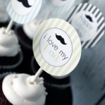 Father's Day Printable Party Circles 7