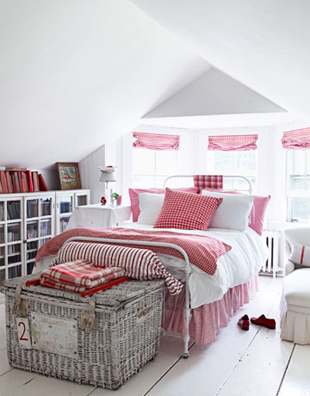 Inspiration Red And White Cottage Decor The Tiny Tiara