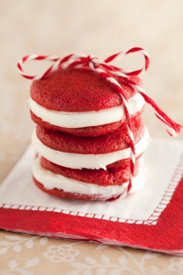 red and white whoopie pie 1