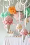 ice cream chandelier