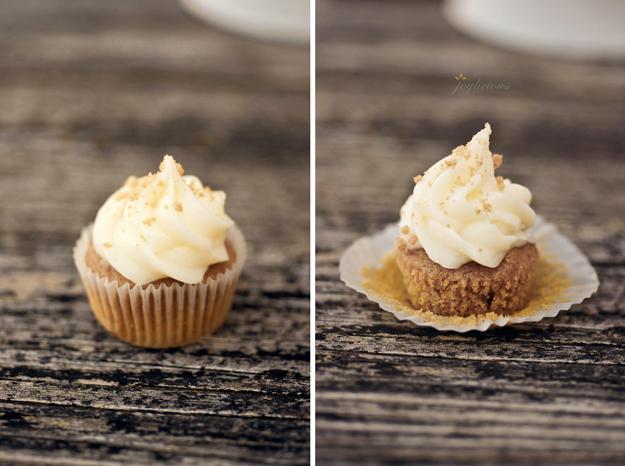 Mini Pumpkin Spice Cupcakes 1